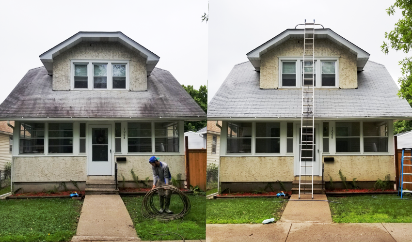 Roof Cleaning Service in Minneapolis, MN