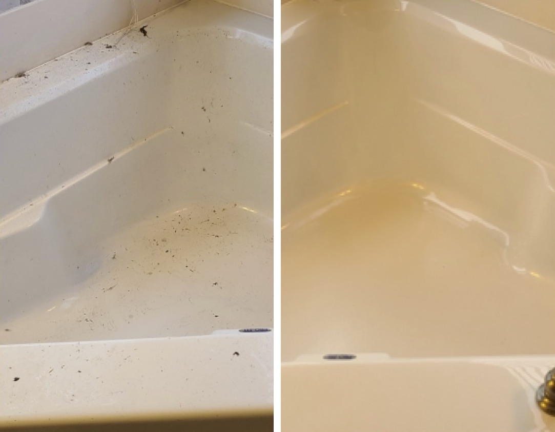 St Louis before and after cleaning results